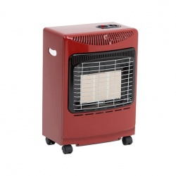 Lifestyle Red Mini Portable Gas Heater