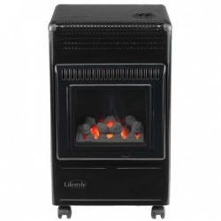 Living Flame Portable Gas Heater