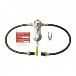 Auto Twin Changeover Kit with Ball Valve